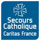 Logo Secours Catholique-Caritas France